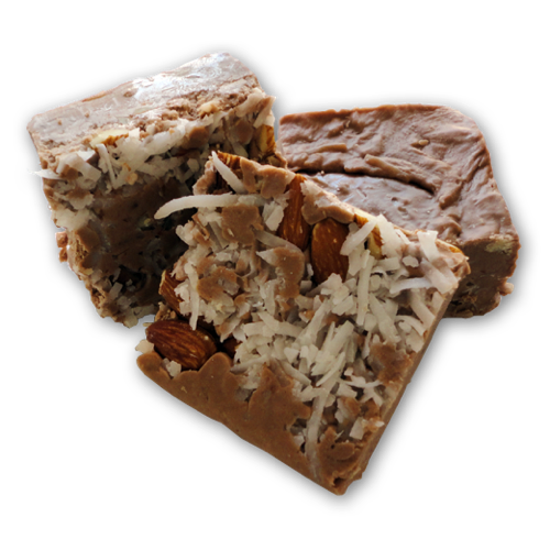 Almond Joy Fudge
